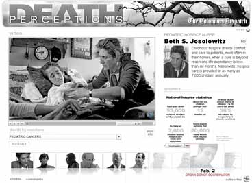 Columbus Dispatch web-only series on death
