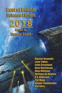 Best Of British Science Fiction 2018 cover
